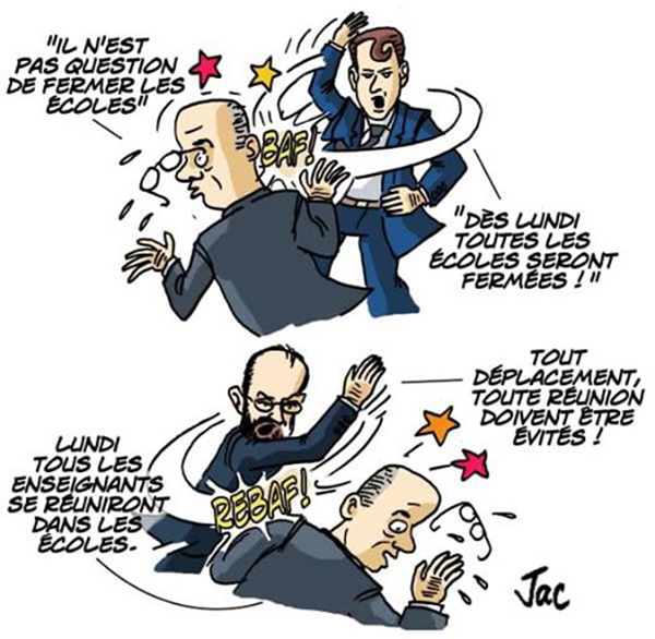 claques blanquer